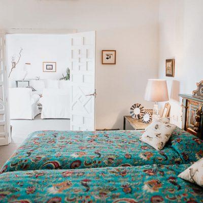 Santa Clara Casa Azul habitación y salón