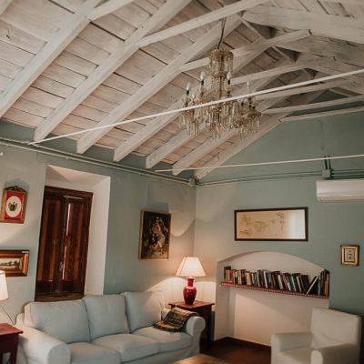 Santa Clara Habitación Azul salón